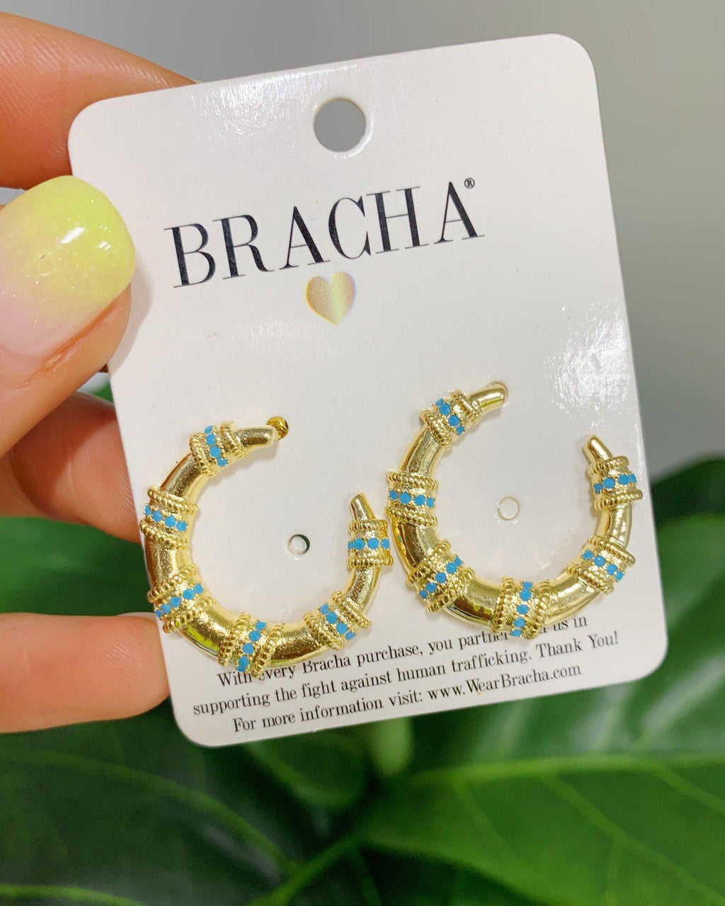 Baja Crescent Earrings SALE BRACHA
