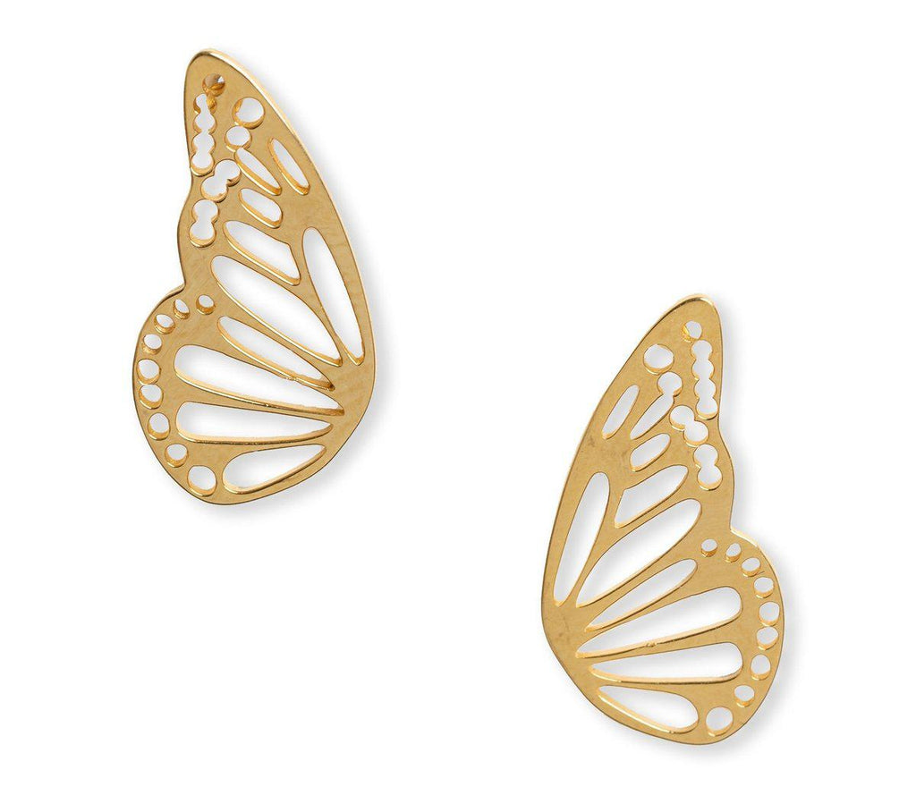 Cassie Butterfly Wing Studs