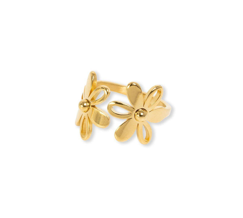Double Daisy Ring Rings BRACHA