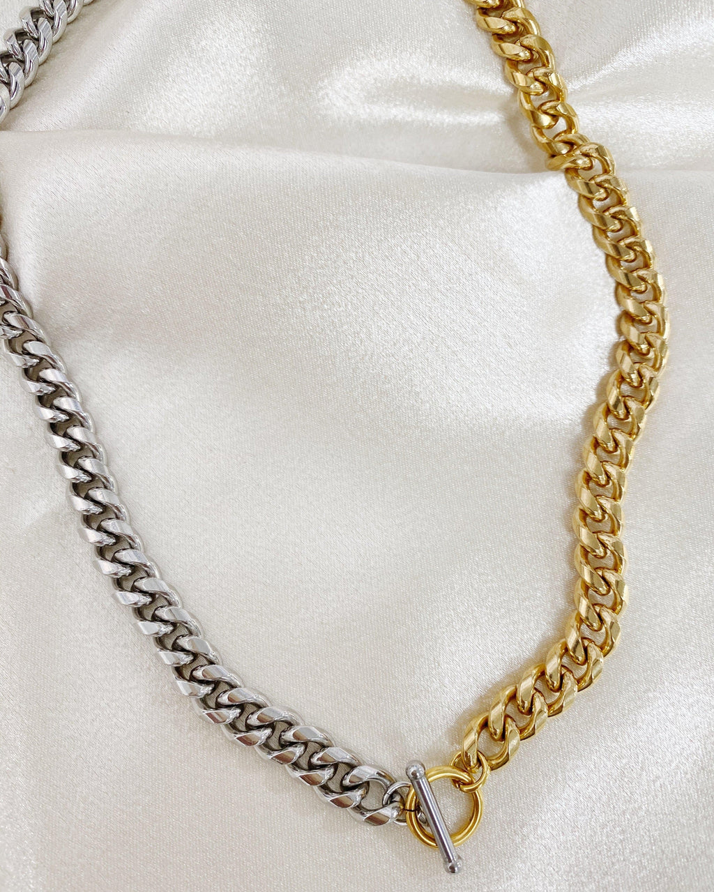 Ashley Two Tone Chain