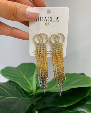 Vogue Earrings SALE BRACHA Mustard Ombre