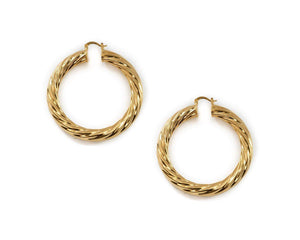 Milan XL Hoops Earrings BRACHA