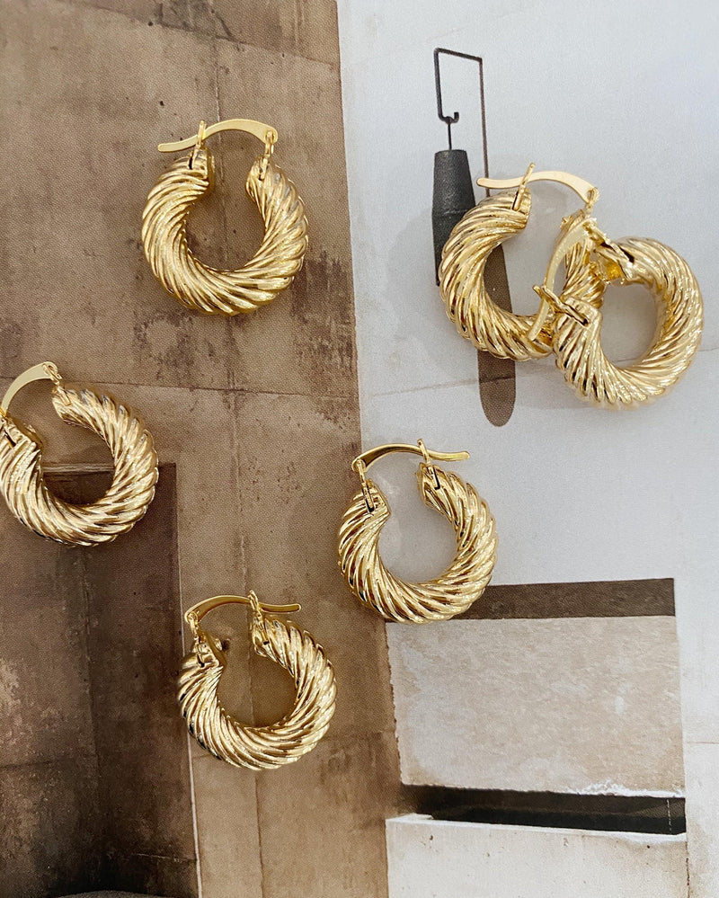 Terry Small Hoops