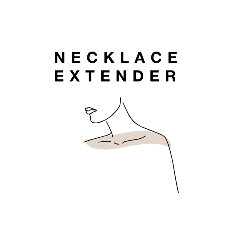 "3"" Inch Necklace Extender"
