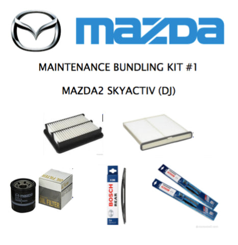 MAZDA 2 (DJ) SkyActiv Hatchback Maintenance Kit #1