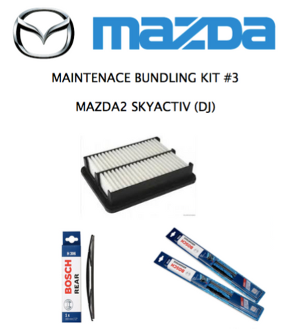 MAZDA 2 (DJ) SkyActiv Hatchback - DIY Maintenance Kit #3
