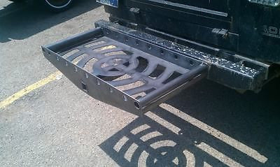 Custom made Hitch carrier holds jerry cans coolers and more!!!