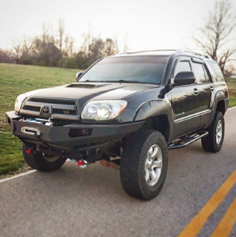 4th gen Toyota 4Runner Front winch bumper