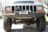 Custom Winch Bumper for Jeep Cherokee XJ MJ