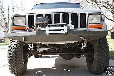 Custom Winch Bumper for Jeep Cherokee XJ MJ – RLCWELDFAB