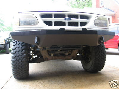 Explorer Winch Bumper 2nd Gen. 95-01 Custom Fabricated. FREE SHIPPING RLCWELDFAB