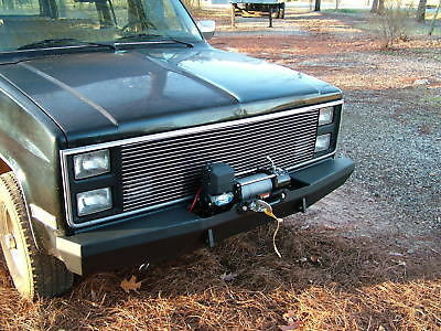 Custom Winch Bumper for Chevy GMC Trucks 1973-1987 FREE SHIPPING