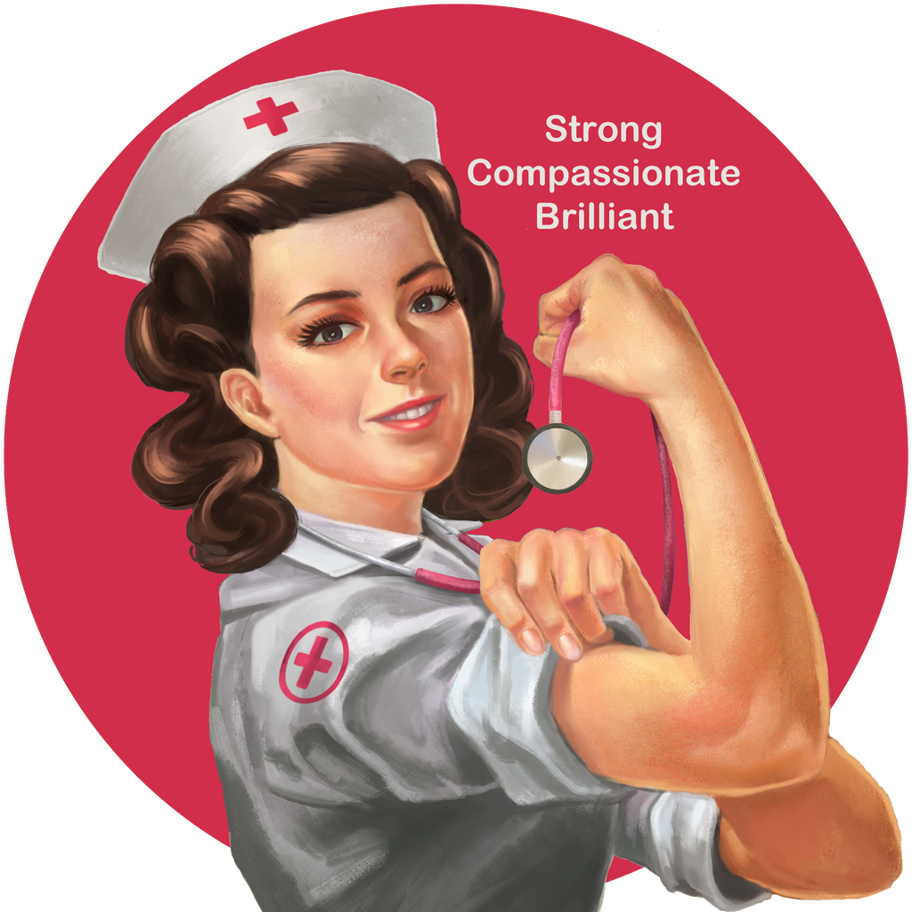 Strong, Compassionate, Brilliant- Nurse Bracelet
