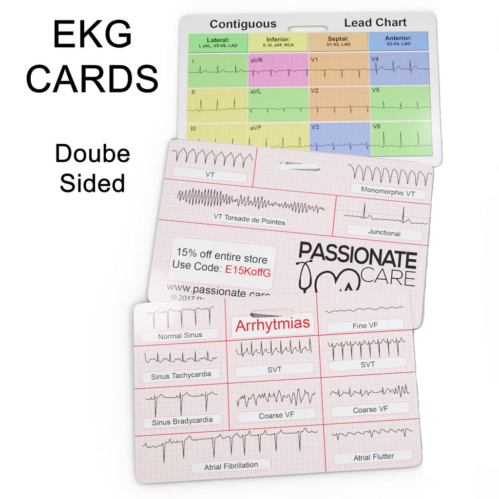 EKG Educational Cards