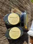 Botani-coal, double sided mini face soap
