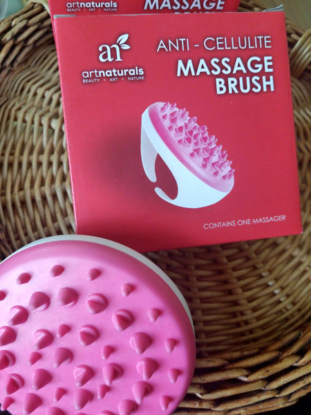 Skin massage brush