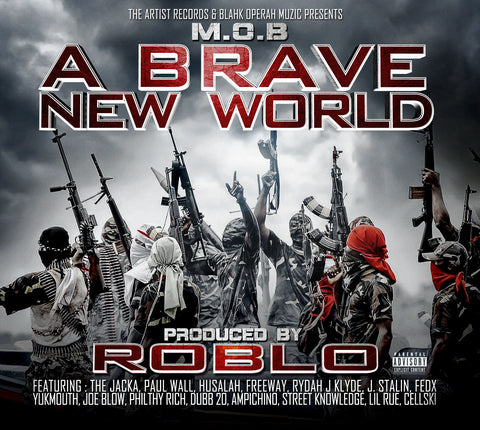 RobLo - A Brave New World (CD)