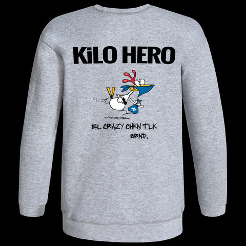 Grey Kilo Hero Crewneck