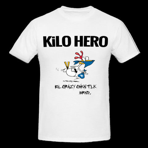 White Kilo Hero T-Shirt