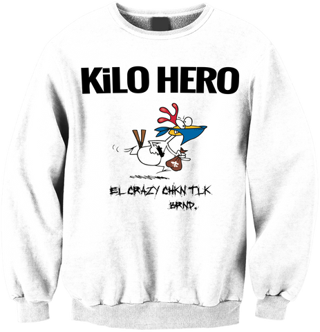 White Kilo Hero Crewneck