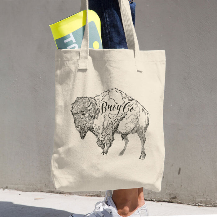 Broy Co. Buffalo Tote Bag