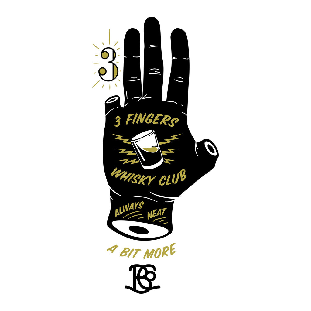 3 Finger Whisky Club Graphic