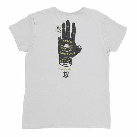 3 Fingers Whisky Club Women's Short Sleeve T-Shirt