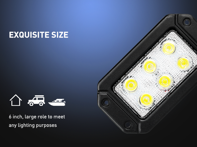 flush mount led lights, rear lights, reverse lights, back up lights