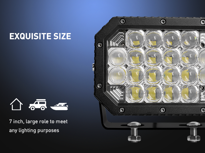 offroad led work lights, 5D Projector Lens