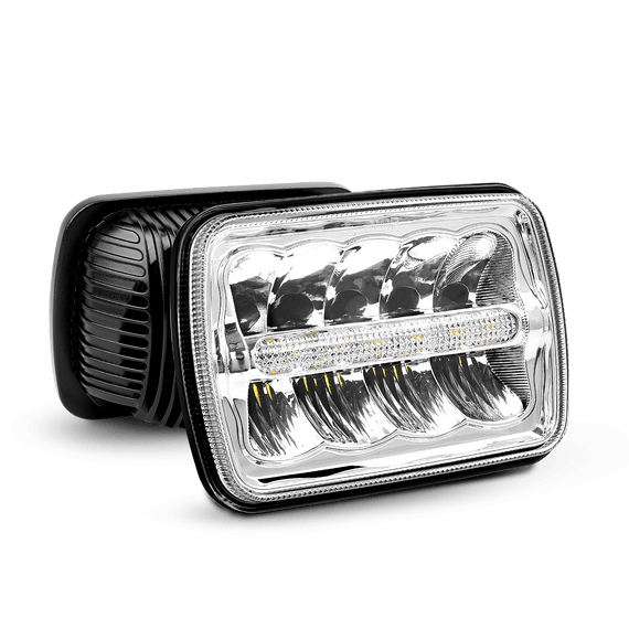 LED Headlights, 7x6 LED Headlights, 5x7 LED Headlights, H6014, H6052, H6054, 6054