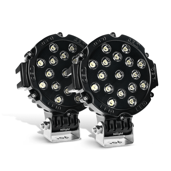 offroad led work lights, jeep lights, subaru lights, led driving lights, halogen lamp replacement, headlight replacement