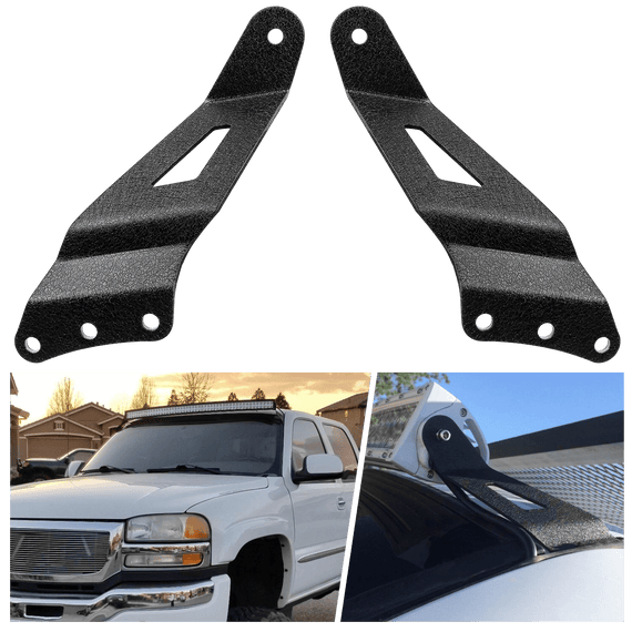 "50"" curved light bar mounting brackets"