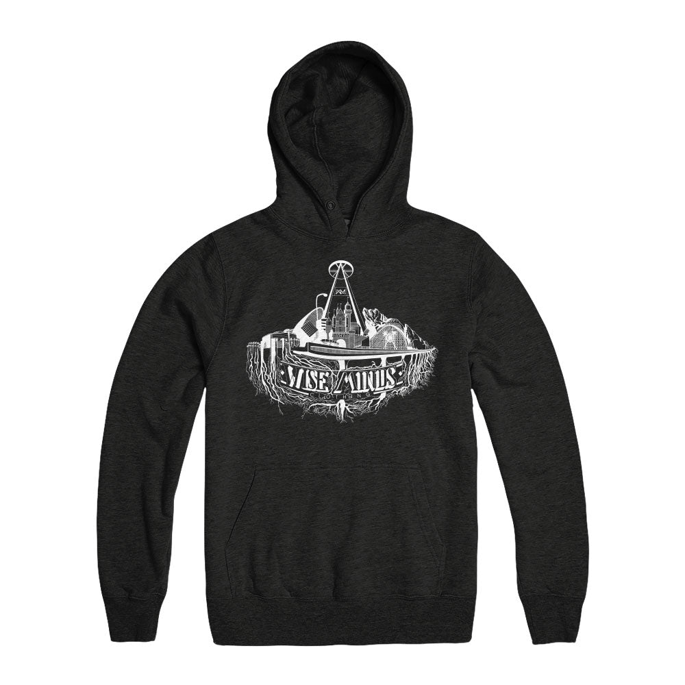 City Roots Hoodie - Black