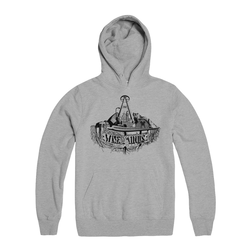 City Roots Hoodie - Sport Grey