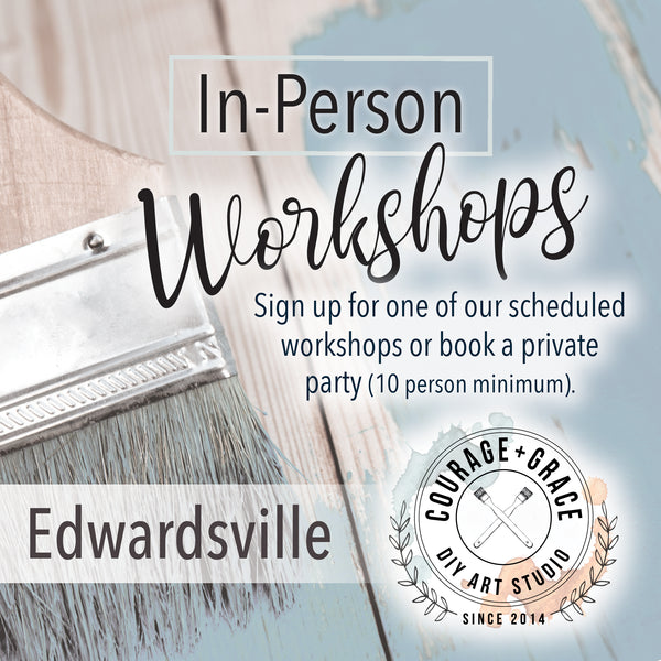 Upcoming Workshops Edwardsville, IL