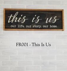 FR001 - This Is Us
