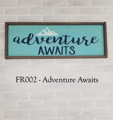 FR002 - Adventure Awaits