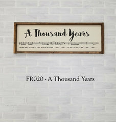 FR020 - A Thousand Years