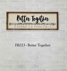 FR023 - Better Together