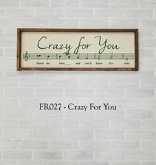 FR027 - Crazy For You