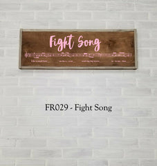 FR029 - Fight Song