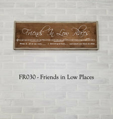 FR030 - Friends In Low Places