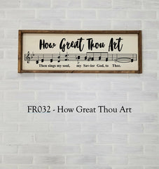 FR032 - How Great Thou Art