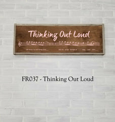 FR037 - Thinking Out loud