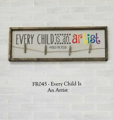 FR045 - Every Child Is An Artist