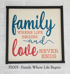 FS005 - Family Where Love Begins