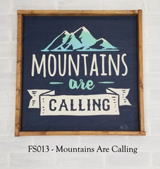 FS013 - Mountains Are Calling