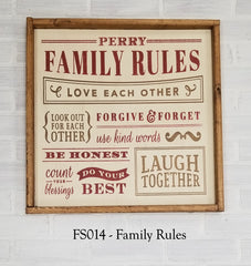 FS014 - Family Rules