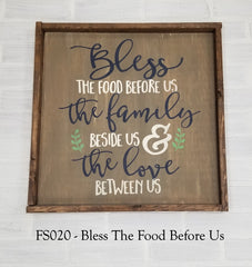 FS020 - Bless The Food Before Us