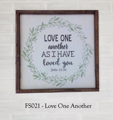 FS021 - Love One Another